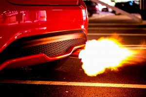 backfire voiture