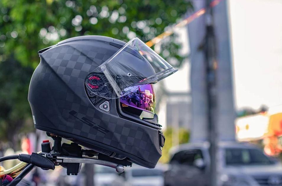 casque integral moto
