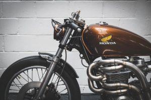 moto vintage honda